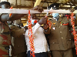 The commissioning of the fire station at Sissala West District