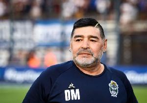 The late veteran footballer, Diego Maradona