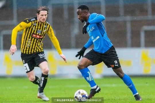 Karim Sadat marks his Swedish Allsvenskan debut