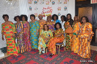 The Prestige Society of Women in a group photograph at the event