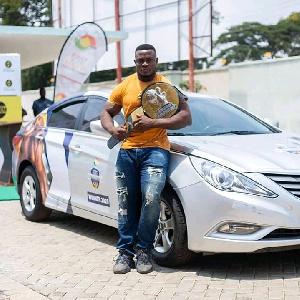 Ahmed Boakye wins Ghana