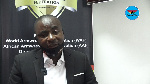 President of Ghana Armwrestling Federation, Charles Osei Assibey
