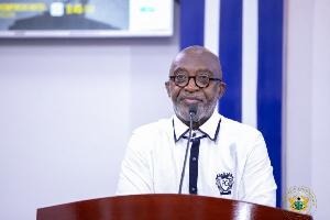 Reginald Yofi Grant, the CEO of GIPC