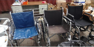 ARII taking delivery of some wheelchairs
