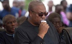 So I am saying to John Dramani Mahama, that we are not pigs