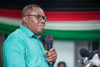 Samuel Ofosu Ampofo, National Chairman of the National Democratic Congress