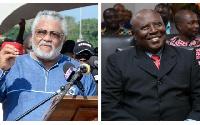 Former President Jerry John Rawlings and Martin Amidu, Special Prosecutor