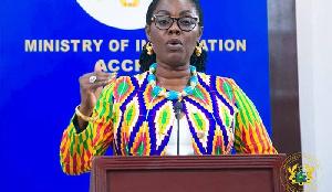 Minister of Communication and Digitalisation, Ursula Owusu-Ekuful