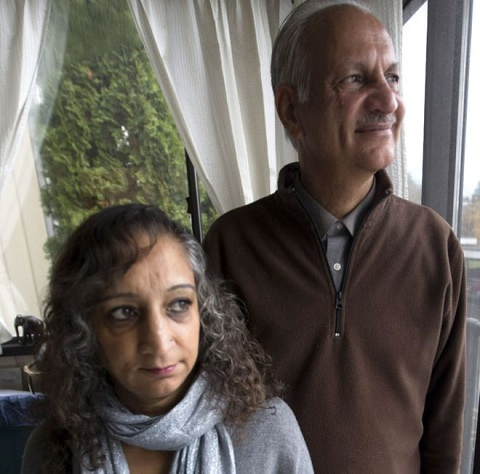 Suman and Manjit Virk campaigned against bullying across Canada