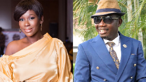 Ama K Abebrese and Counsellor Lutterodt