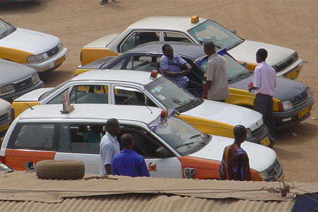 File photo - Taxi Drivers
