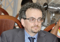 Jon Benjamin is the current British High Commissioner to Ghana.