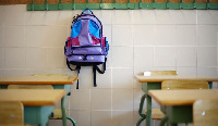 School officials said lessons end anytime it rains, due to the bad nature of their classrooms
