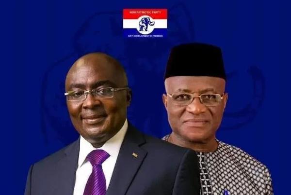Dr Mahamudu Bawumia and Osei Kyei-Mensah-Bonsu