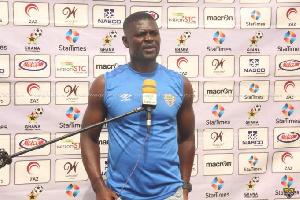 Samuel Boadu, the head coach of Accra Hearts of Oak