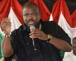 NDC's National Organizer, Joshua Akamba