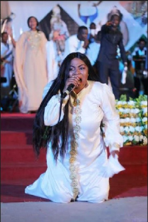 Empress Gifty Osei and all the artistes who performed thrilled the patrons