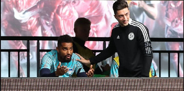 Kevin-Prince Boateng turns assistant coach as Leipzig humiliate Hertha