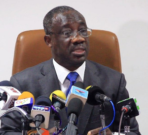 Emmanuel Kofi Nti, Commissioner General, Ghana Revenue Authority