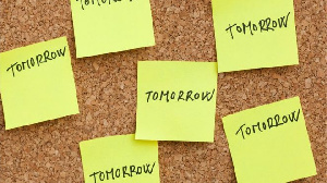 Procrastination is the action of delaying or postponing tasks