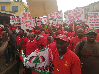 The group is set to picket at the offices of the EC in the Upper East