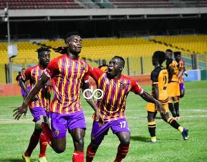 Obeng Jnr scored a brace against Ashgold