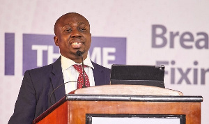 Abeku Gyan-Quansah, a Tax Partner at PwC Ghana