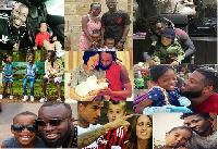 Celebrities and their children