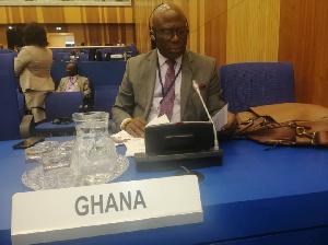 Ebenezer Okletey Terlabi, Member of Parliament for Lower Manya Krobo