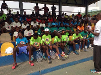 The National Junior League is played at the Accra Sports Stadium on Saturdays
