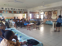 The programme was held at the Alpha Beta Christian College, Dansoman
