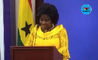 Cecilia Dapaah, Sanitation Minister