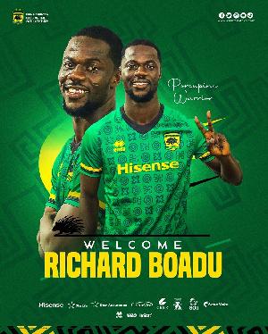 Midfielder Richard Boadu Has Joined Asante Kotoko.jfif