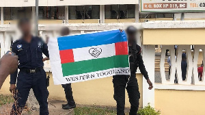 352020110643 8dt2wjivuq Western Togoland Flag At Volta Regional Coordinating Council 2?fit=1024%