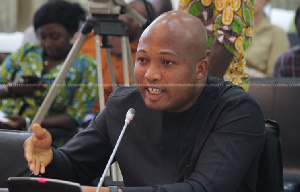 Samuel Okudzeto Ablakwa, Ranking member on the Foreign Affairs Committee of Parliament