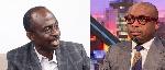 Johnson Asiedu Nketia (L) and Paul Adom Otchere (R)