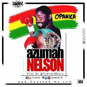 Dadie Opanka honours 'Azuma Nelson'