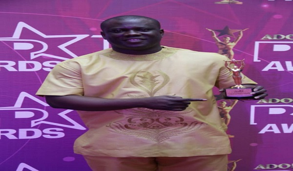 Bonohene Baffour Awuah, the award winning local newscaster for the year