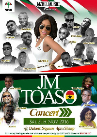 Mzbel JM Toaso concert