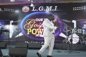 Reverend Emmanuel Eshun, pastor of LGMI