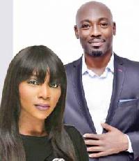 Genevieve Nnaji and Okechukwu Joseph