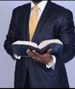 File Photo of a pastor with a Bible