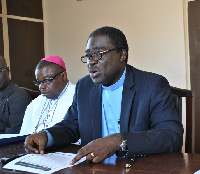Reverend Dr Kwabena Opuni-Frimpong, General Secretary of the Christian Council