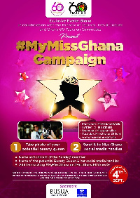 The 'Miss Ghana60Years On' is powered by Exclusive Events Ghana