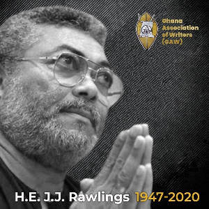 Former President Rawlings passed on at the age of 73