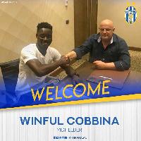 Winful Cobbinah left Hearts to join  FK Tirana