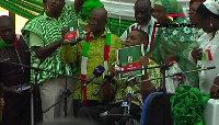 Ivor Kobina Greenstreet - Flagbearer, Convention Peoples Party