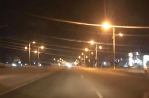 Love Community Chapel donates streetlights to some communities in Accra