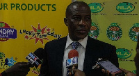 Director-General of the National Lottery Authority (NLA), Kofi Osei-Ameyaw