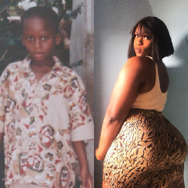 Meet the newest transgender in Ghana causing a stir on the internet